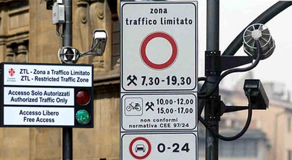 Il transito non consentito e ripetuto nella ZTL non sempre comporta il cumulo delle sanzioni